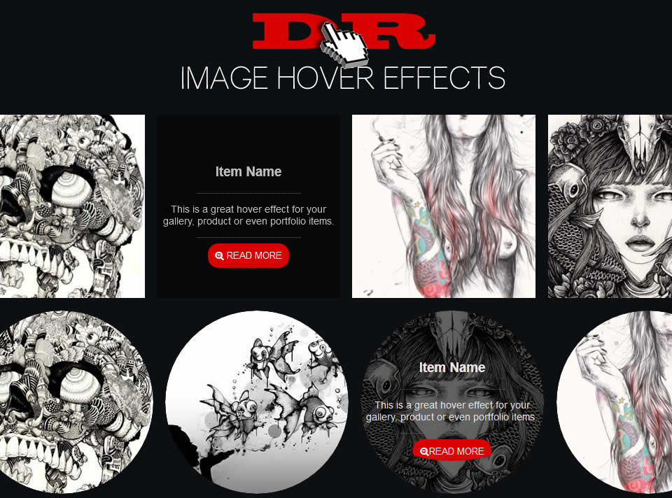 Awesome Image Hover Effects With CSS3